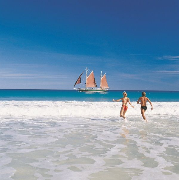 The stunning waters of Cable Beach, Broome
