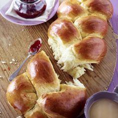 Geflochtenes Brioche-Brot Rezept