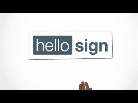 Easily sign documents in your browser or on your tablet
