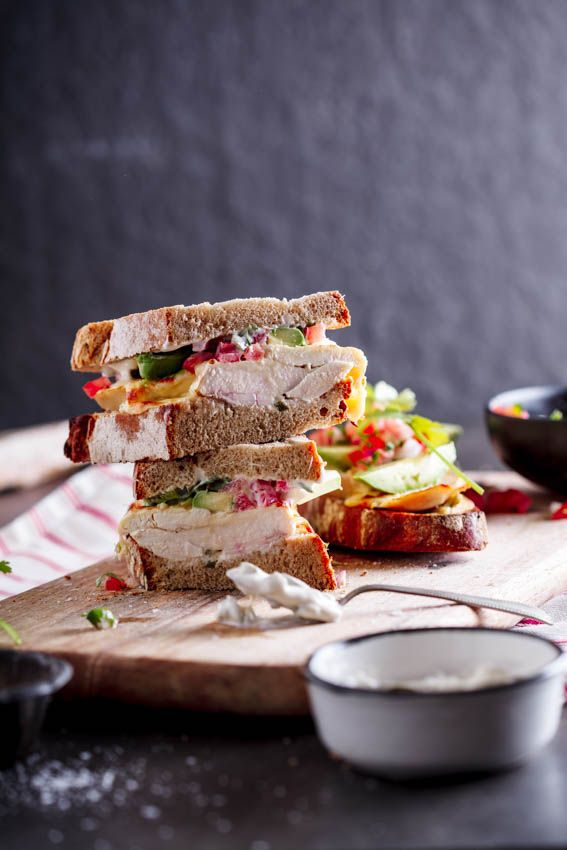 Tender chicken and mozzarella with jalapeno mayo and zesty salsa.