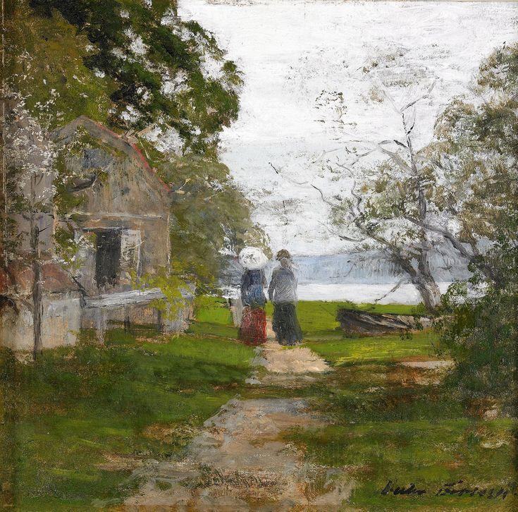 Victor Forssell (1846-1931): Flanörer på Djurgården