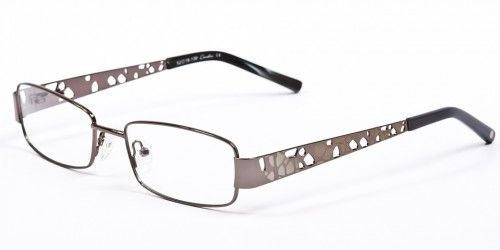 If you're looking for a unique pair of prescription eyeglasses that won't over-power your style, then Julian Beaumont 687 is the frame for you! Made of metal, these full frame glasses are light weight and perfect for any day! The rectangular lenses are great for bifocal or progressive lenses but can fit any prescription need.