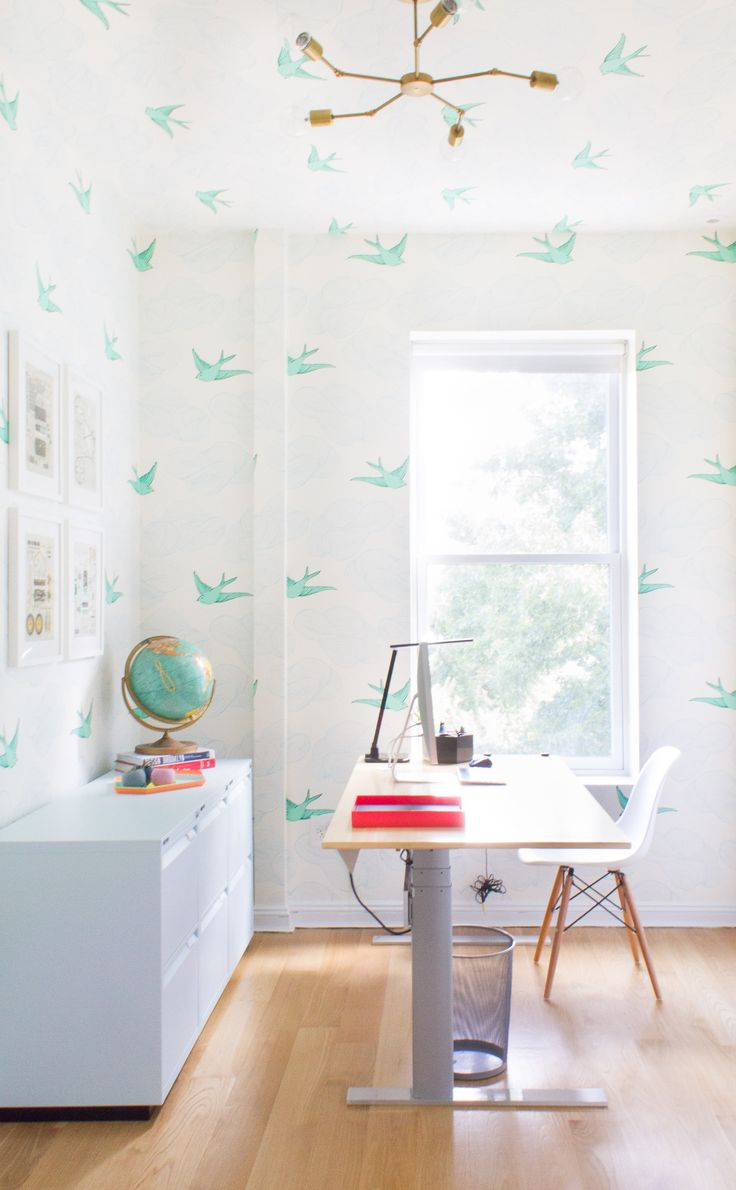 Uncategorized small home office tour organization youtube beauty room tour makeup collection jaclyn hill youtube loft apartment - A Whimsical Wonderful Home Office In Park Slope
