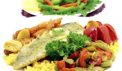 Rybacie filé so zeleninou
