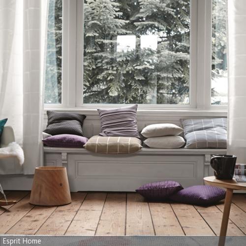 22 besten Sitzbänke Bilder auf Pinterest Fenster, Wohnideen und - wohnzimmer grose fensterfront