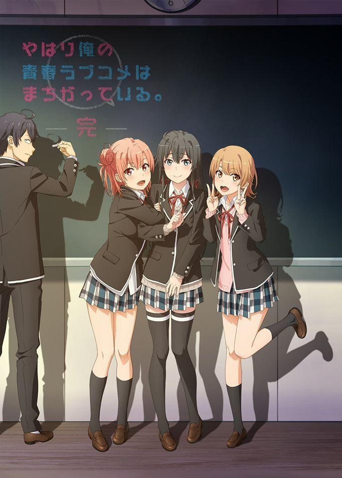 Nonton Yahari Ore no Seishun Love Comedy wa Machigatteiru. Zoku ...