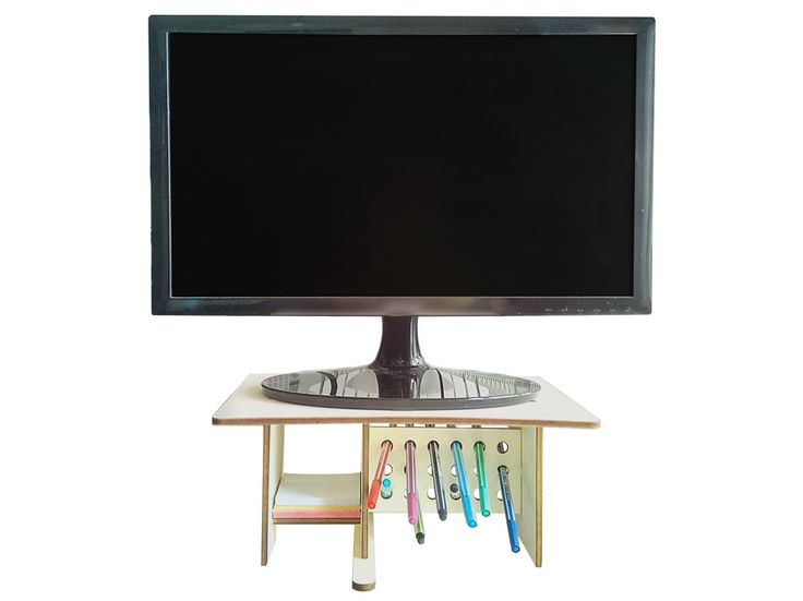 best 25 monitor stand ideas on pinterest monitor stand ikea white desks and printer stand. Black Bedroom Furniture Sets. Home Design Ideas