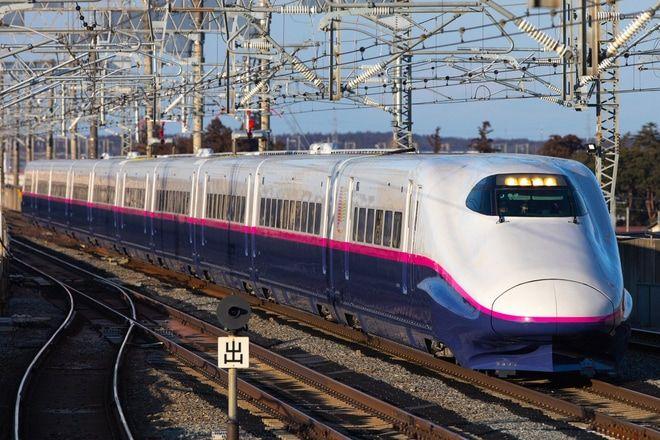 ここあ さん撮影 2020年2月6日22時40分配信のニュース 2020年2月4日 新幹線総合車両センター所属のe2系j52編成が検査を終えて出場し 仙台 北上間で試運転を行い 鉄道 写真 鉄道 新幹線