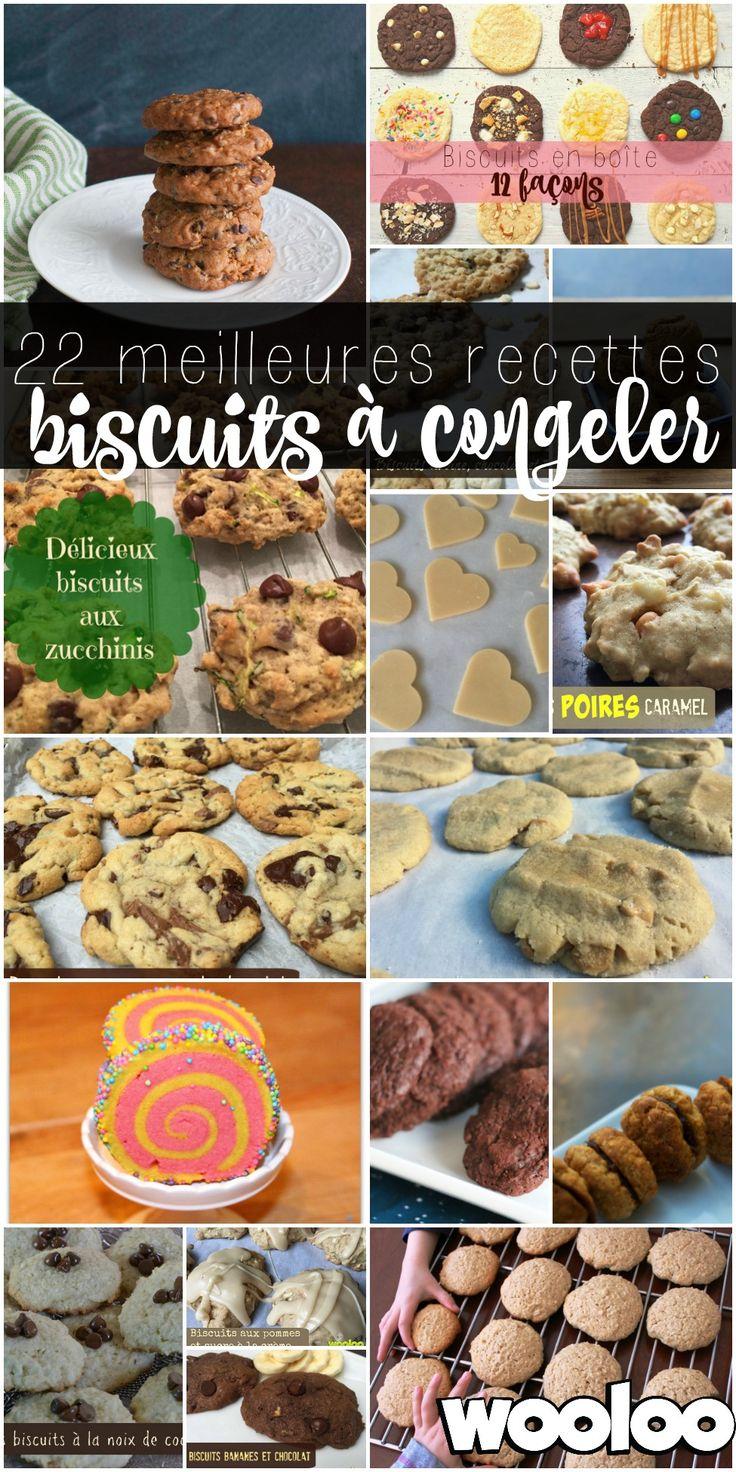 voici 22 recettes de biscuits à congeler pour prendre un peu d'avance dans ta vie de fou! Lâche pas maman/papa