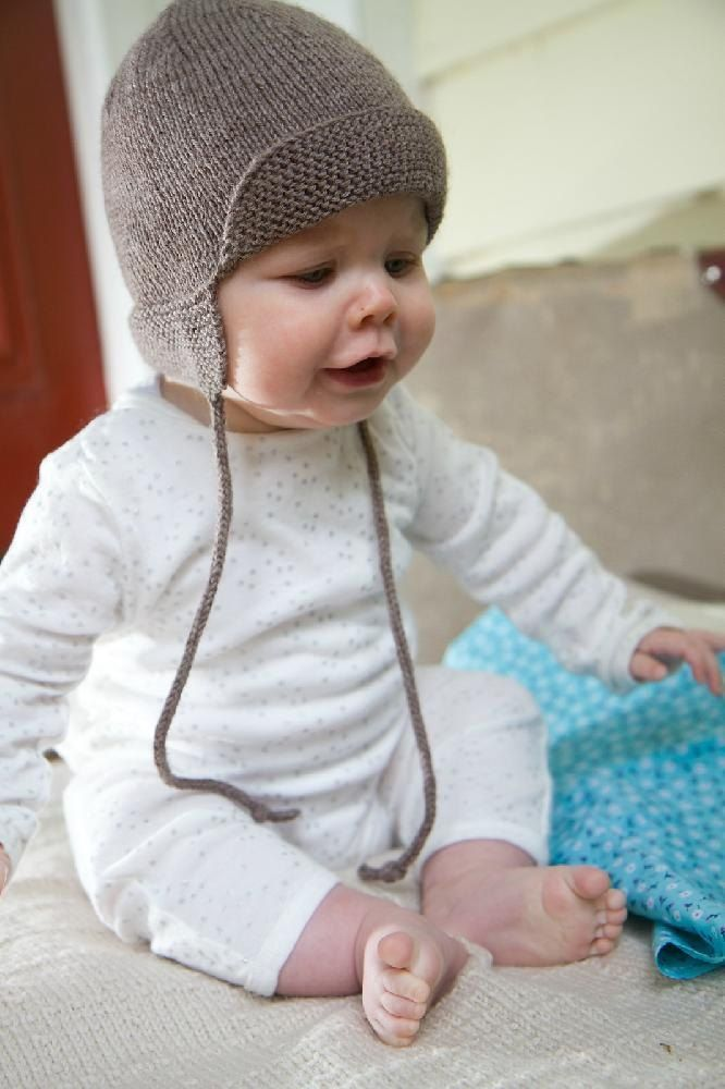 4ply Baby Hunter Hat - Baby Cakes by Little Cupcakes - Bc47A 4 ply hunter hat for baby with knitted cords and front and back flaps to keep baby snug and warm.Sizes 0-3 3-6 6-9 9-12 MonthsThis pattern is written for 4ply/fingering on 3.25 mm needles.Thank you for looking, check out my other Little Cupcakes and Baby Cakes patterns.