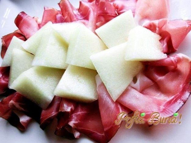 Pofta Buna! ~ cu Gina Bradea ~Prosciutto cu pepene galben