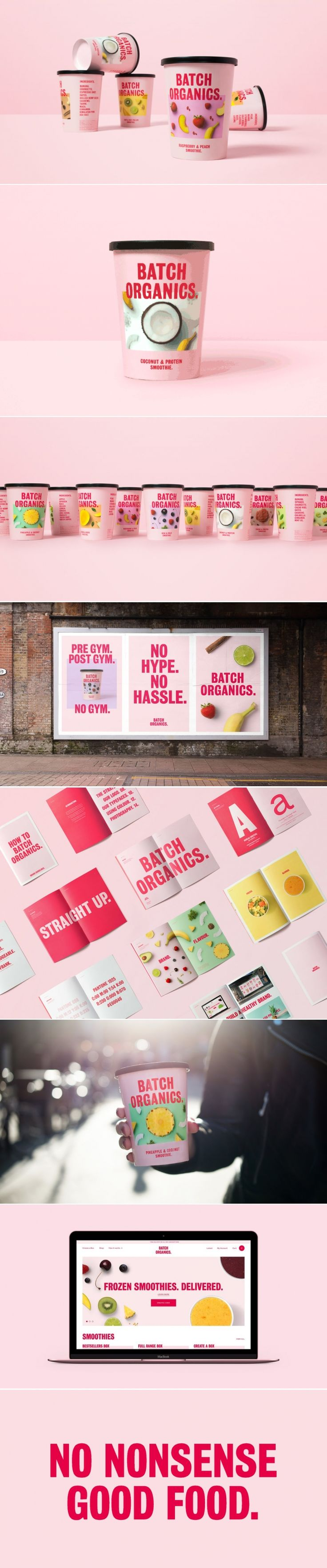 Batch Organics Aims To Bring Healthy Options Without The Hype — The Dieline | Packaging & Branding Design & Innovation News