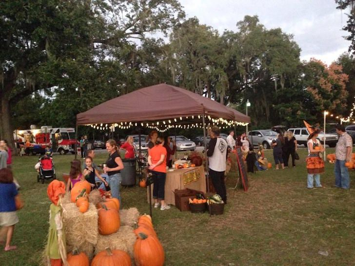 """<a href=""""https://www.facebook.com/tcapumpkinpatch/"""">Trinity Christian Academy Orlando Pumpkin Patch</a><br> 2113 E. South St., 407-894-2237<br> <br> Pumpkins sold out so quickly here last year that they had to double their order. This pumpkin patch located in the heart of downtown runs from Oct. 16-31 and benefits Trinity Christian Academy at South Street Ministry. Weekend events include bounce houses, pumpkin carving and decorating, and fall crafts. There will also be baked goods available…"""
