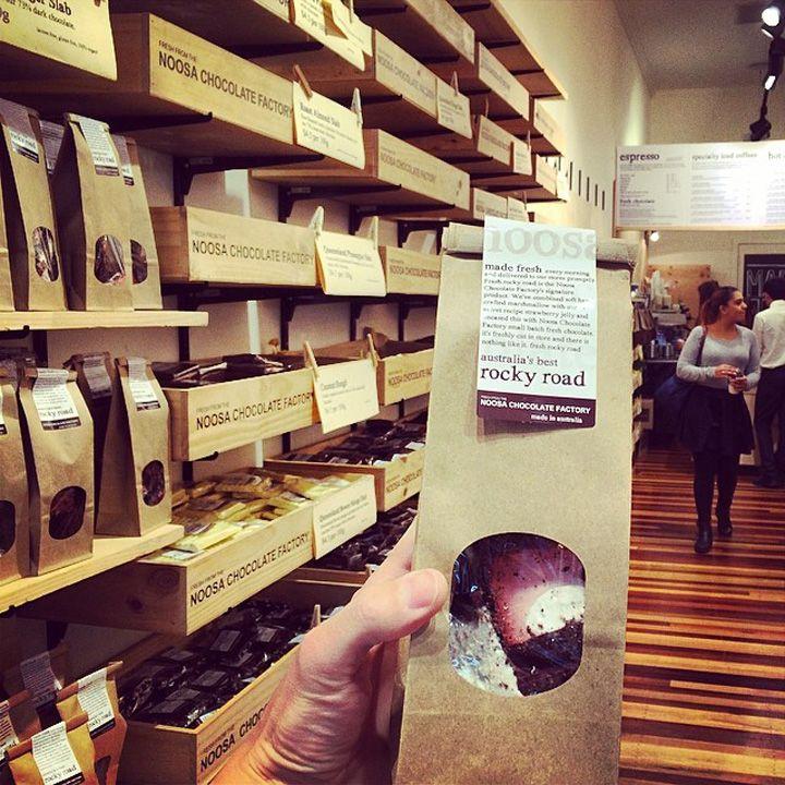 Noosa Chocolate Factory, Brisbane Australia chocolate store