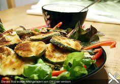 Panierte Zucchinischeiben (Rezept mit Bild) von Memelie   Chefkoch.de