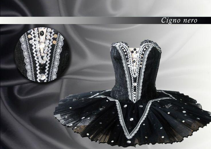 Ballet costume for Black Swan