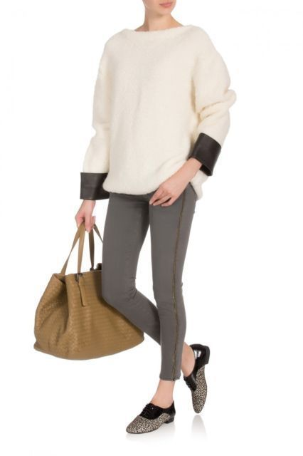 FRAME DENIM Le Skinny Zippered Outseam Sexy Jeans Pants Thatcher Grey 25 $250 #FrameDenim #SlimSkinny