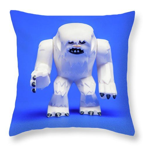 Wampa Throw Pillow for Sale by Samuel Whitton