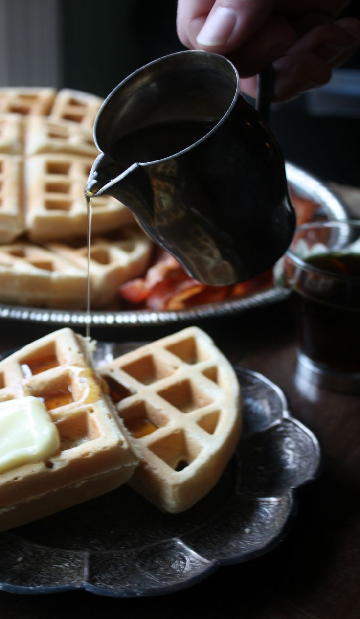 Fluffy, delicious, and filling waffle recipe from scratch. This is our homemade family waffle recipe