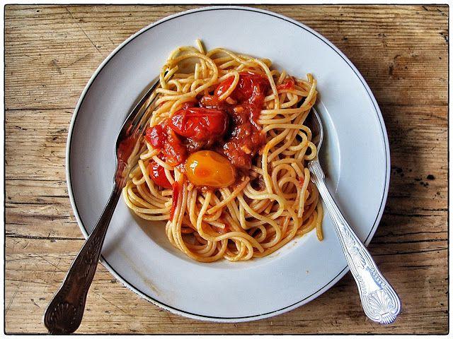 spaghetti Napolitana-- vegan   Mitamura