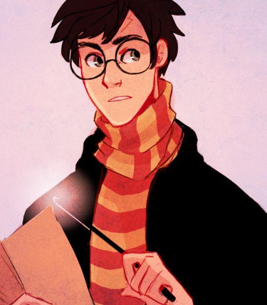 Harry Potter by princecanary #harrypotter #fanart