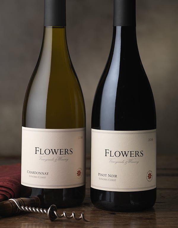 Huneeus Vintners Flowers Vineyards Winery Cf Napa Brand Design Wine Label Design Wine Packaging Design Winery