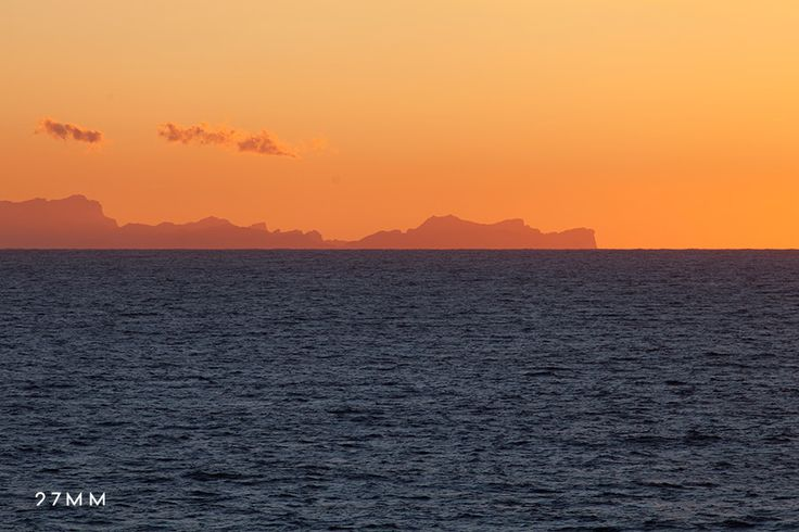 So lucky to have this view every day from my town. Spring sunsets in the Mediterranean Sea. www.27MM.net