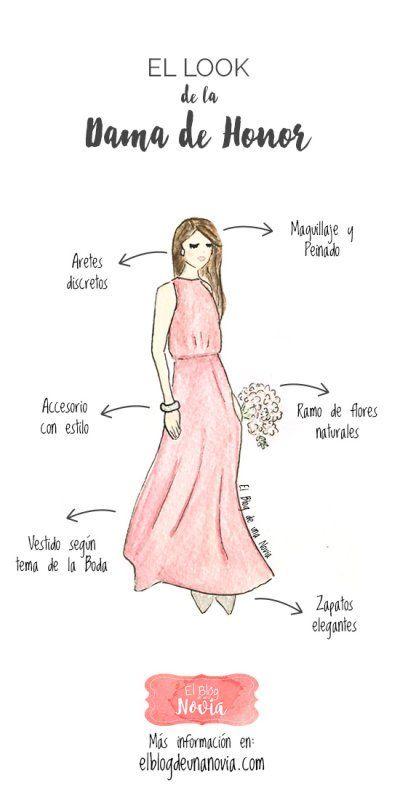 El look de la Dama de Honor   El Blog de una Novia   #damasdehonor