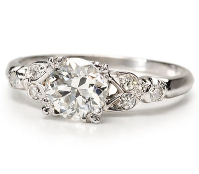 Wow Factor: 1.06 ct. Diamond Engagement Ring - The Three Graces