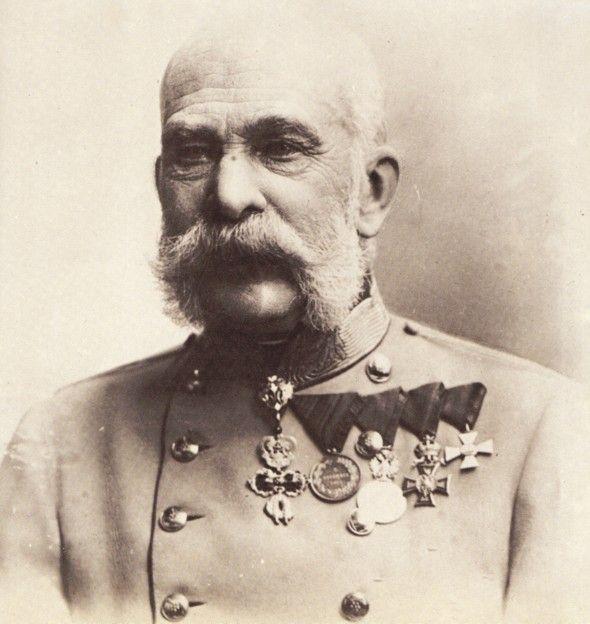 The Emperor Franz Josef.