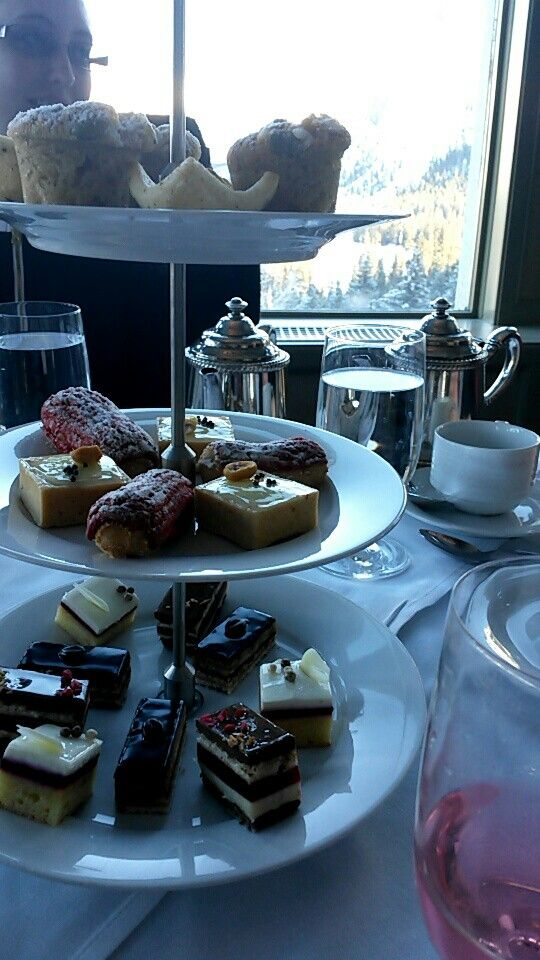 High tea at the Fairmont