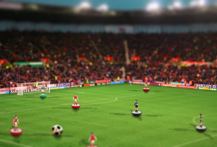 Subbuteo, the greatest game ever invented.