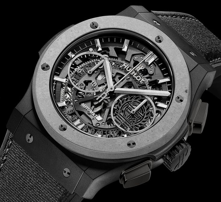 "Hublot Classic Fusion Aerofusion Concrete Jungle Watch - by Michael Penate - More on this new collaboration piece at: aBlogtoWatch.com - ""Hublot is a brand that has proven to thrive in the face of both negative and positive feedback by pushing the boundaries of design, technical innovation, and boldness. It's the kind of enthusiasm that shakes up the industry and channels some of the most creative and thoughtful marketing..."""