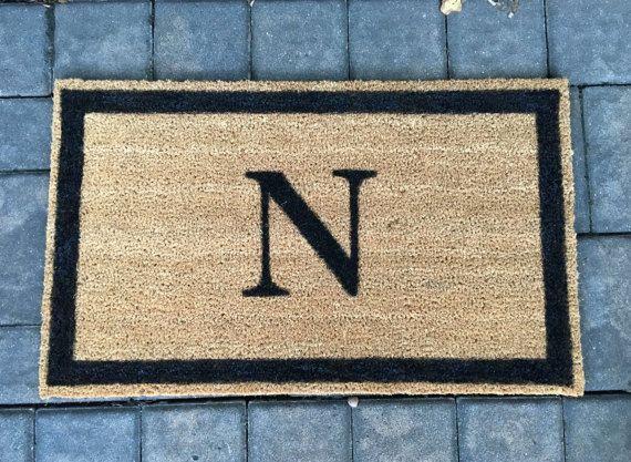 Personalized Doormat Custom Door Mat by ToniAnnsBellaArte on Etsy