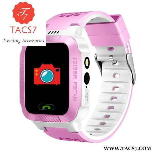 1.44' Touch Screen Remote Camera Kids Watch Pink Trending Accessories