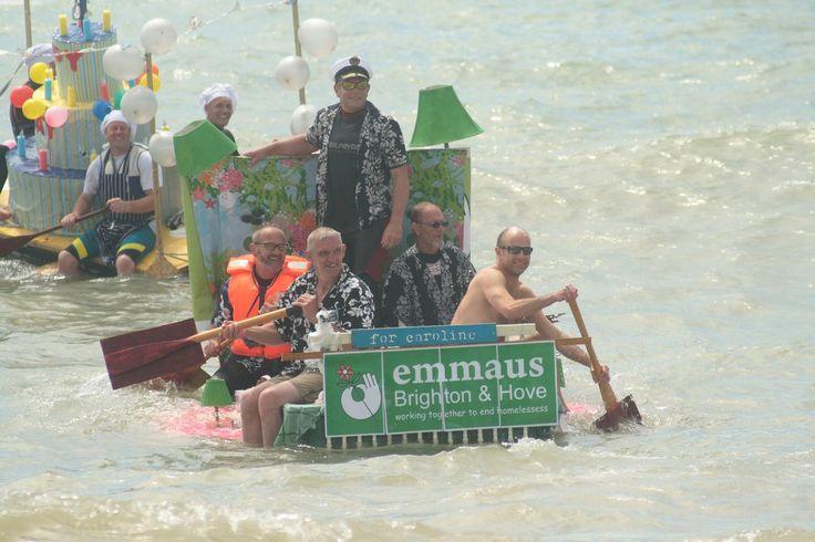 #teamemmausuk at Paddle round the pier.