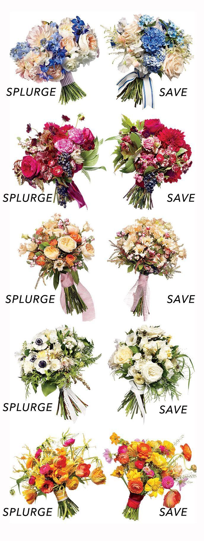 What makes one wedding bouquet more expensive than another? Save money on wedding flowers, bridal bouquets