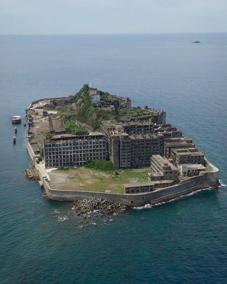 Eerie Sightseeing Spot Hashima Island Is An Abandoned