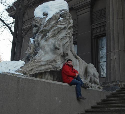 Из серии - Я и памятник