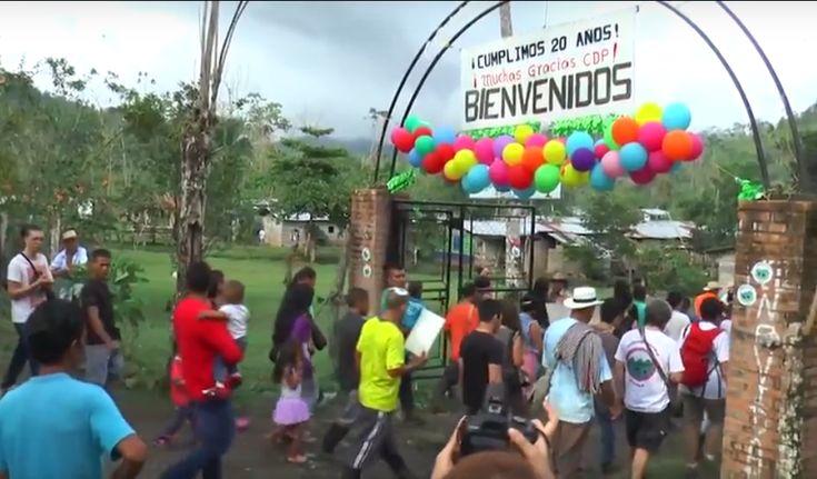 El 23 de marzo de 1997 se creó la Comunidad de Paz de San José de Apartadó. 20 años después la lucha sigue.