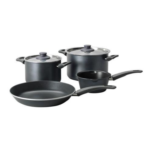 SKÄNKA 6-piece cookware set - IKEA $29.99