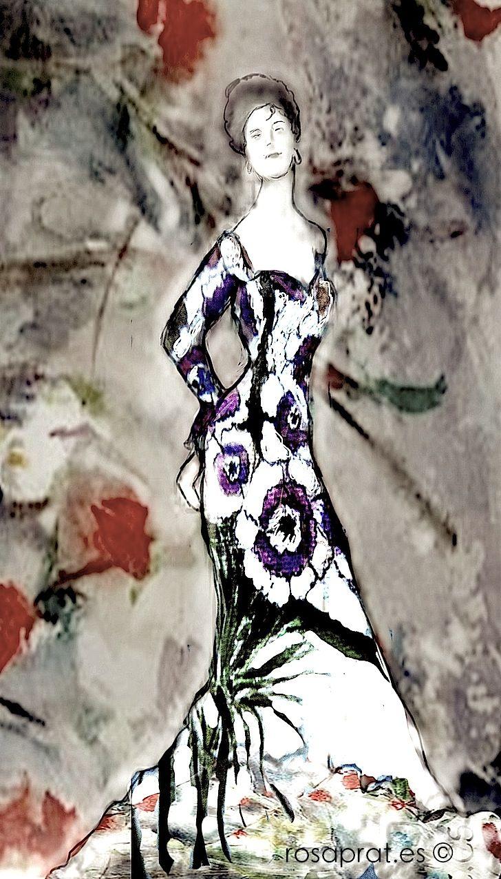 Mujer flamenca.