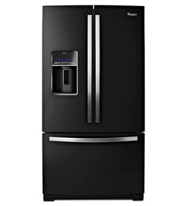 Whirlpool Gold® 29 cu. ft. French Door Refrigerator. $2600Kitchens, Black Ice, French Doors Refrigerators, Energy Stars, Fresh Food, House, Food Capacity, Whirlpool, Frenchdoors