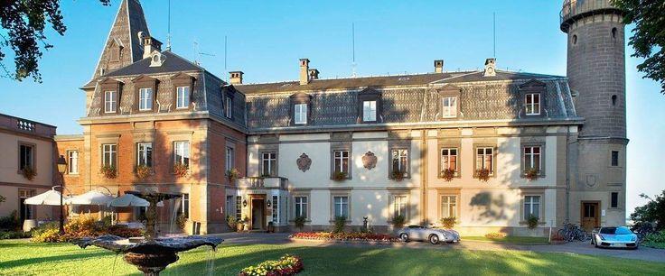 hotel Rouffach Chateau d'Isenbourg, Alsace, France