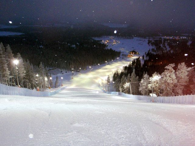 Pistas esqui finlandesas
