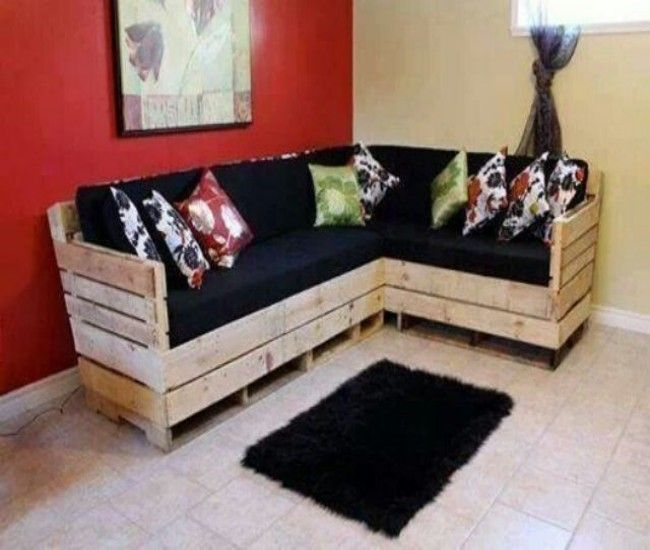 Pallet sofa i for Muebles pales