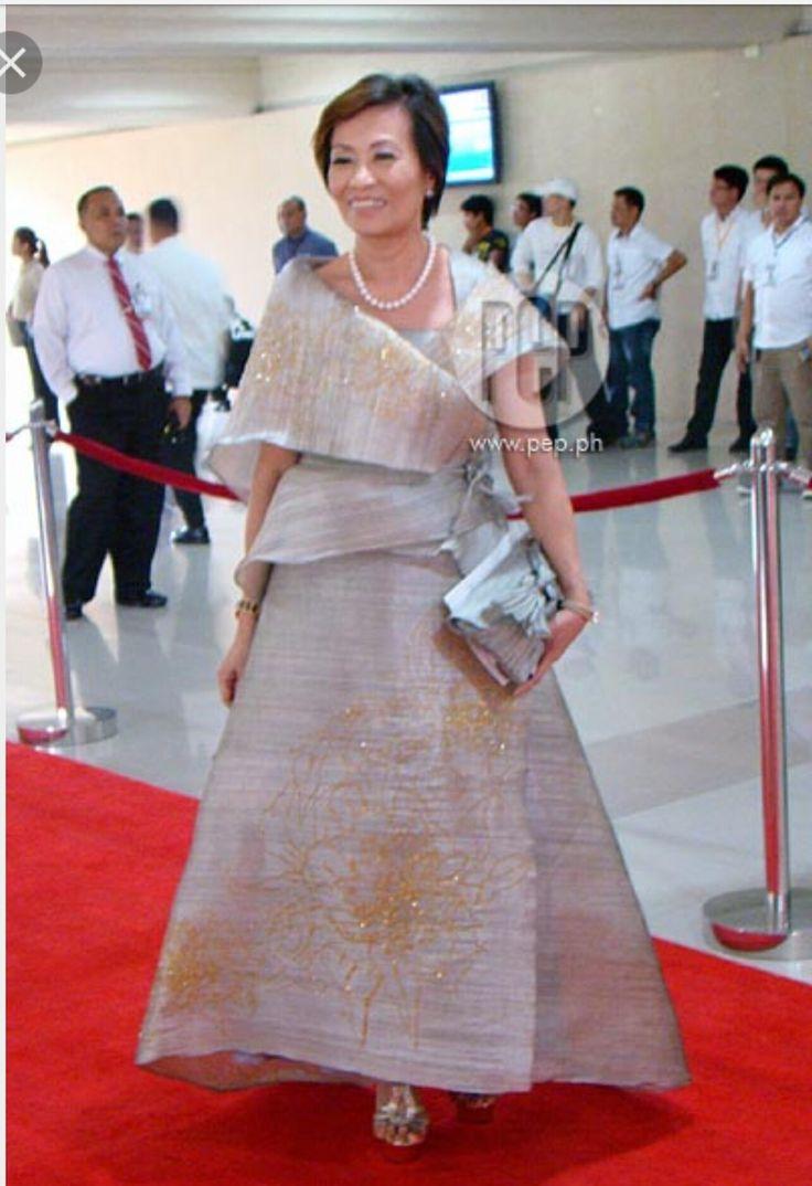 Modern filipino maria clara uri ina austronesia for Maria clara wedding dress