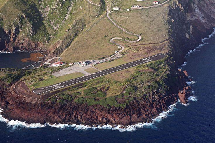 25 piores aeroportos do mundo - O aeroporto da ilha de Saba2.