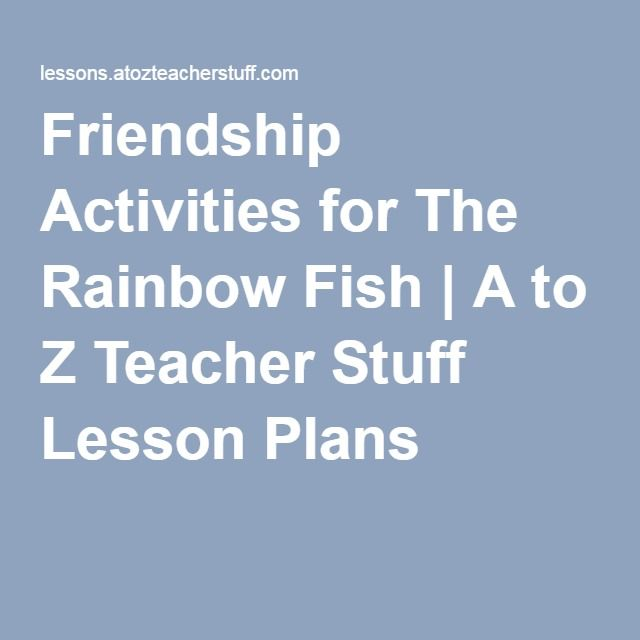 17 best images about book activities on pinterest for Rainbow fish lesson plans