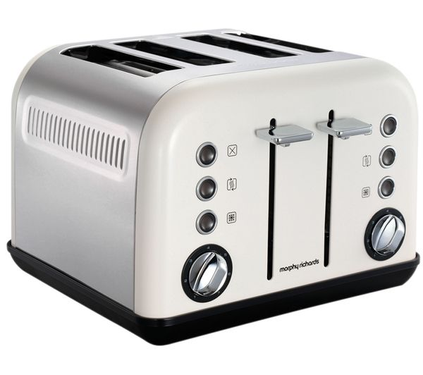 Accents 242005 4-Slice Toaster - White